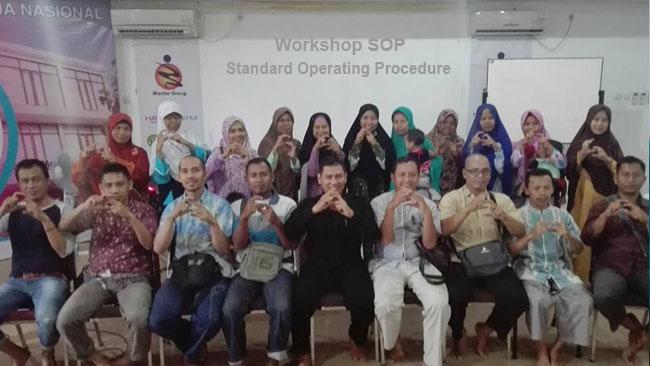 Workshop Cara Praktis Menyusun SOP Genpro 5