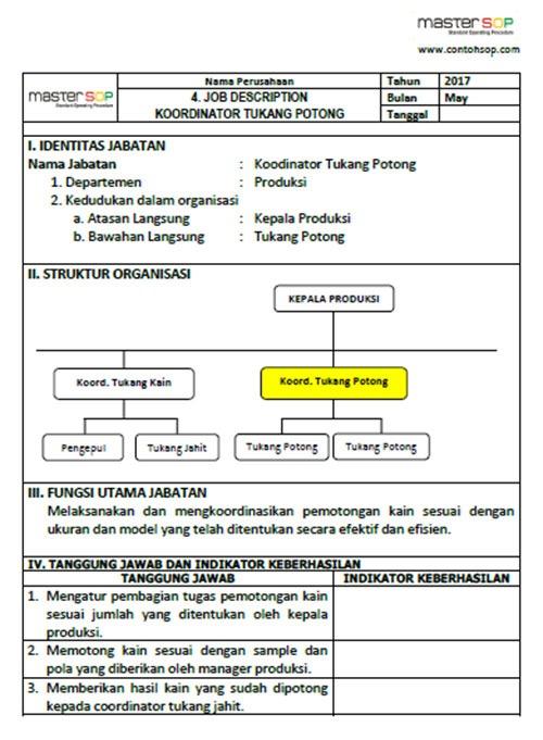 JOBDESC-GARMEN-AA Job Description Format Template on sales representative, free blank, sales manager, human resources,