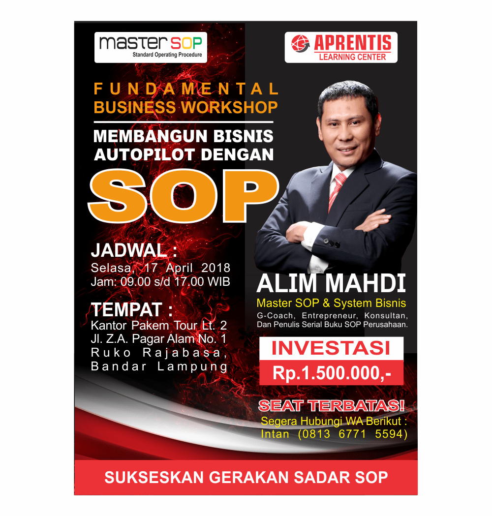 PAMFLET WORKSHOP LAMPUNG