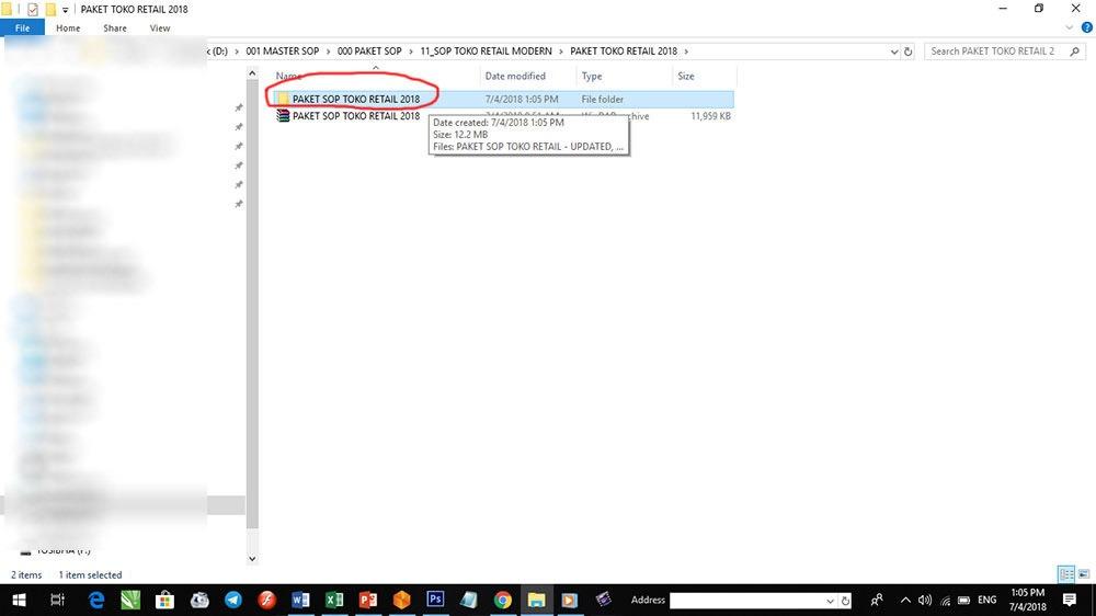 cara download contoh sop perusahaan 4