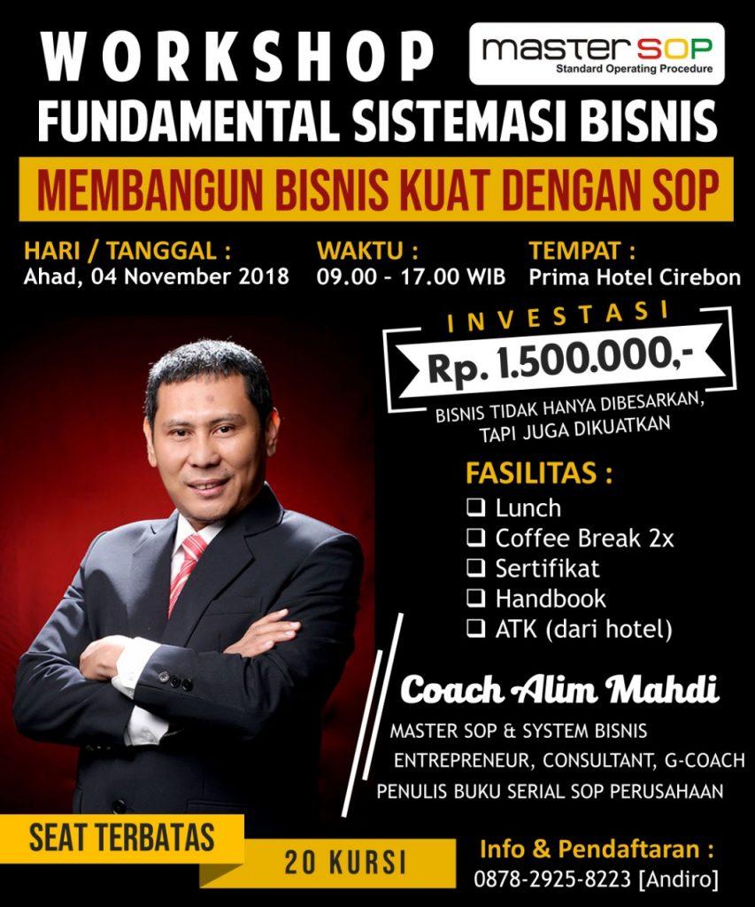 Workkshop SOP Cirebon