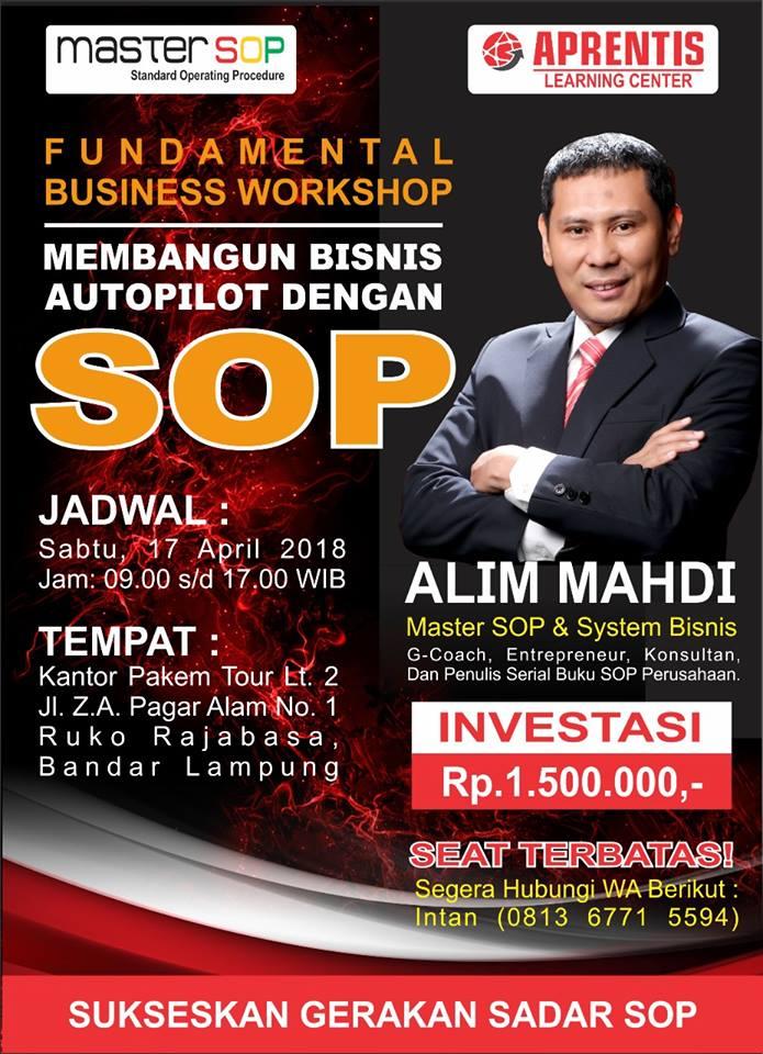 Workkshop SOP Lampung