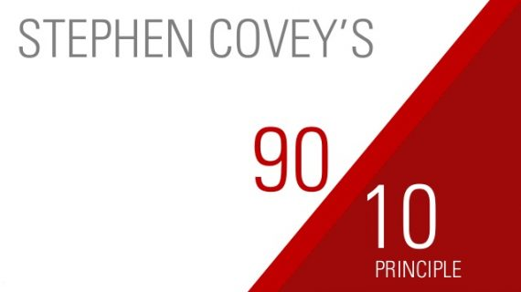 STEPHEN COVEY THE 10 / 90 PRINCIPLE