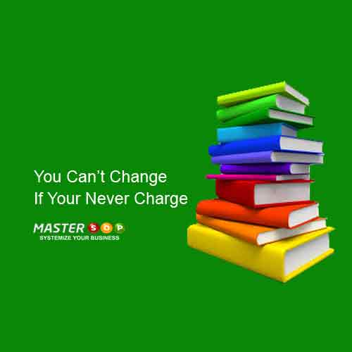 You Cant Change If Your Never Charge